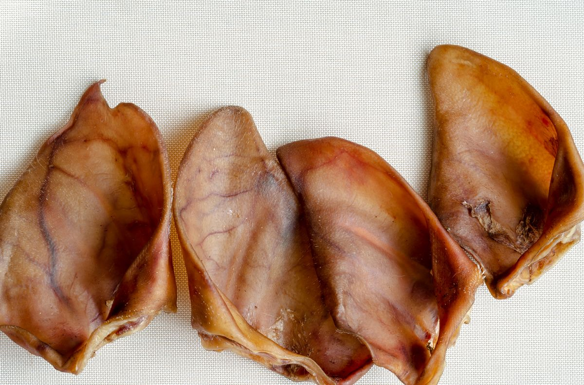Are pig ears good for dogs?